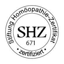 Stiftung Homöopathie Zertifikat